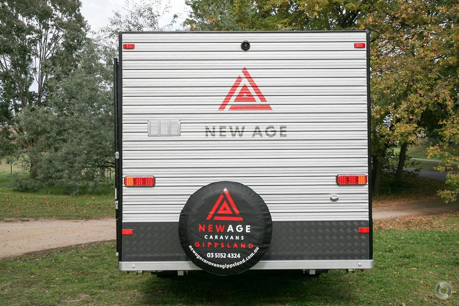 2019 New Age Road Owl 16ER Adventurer Pack. Ensuite Rear Door