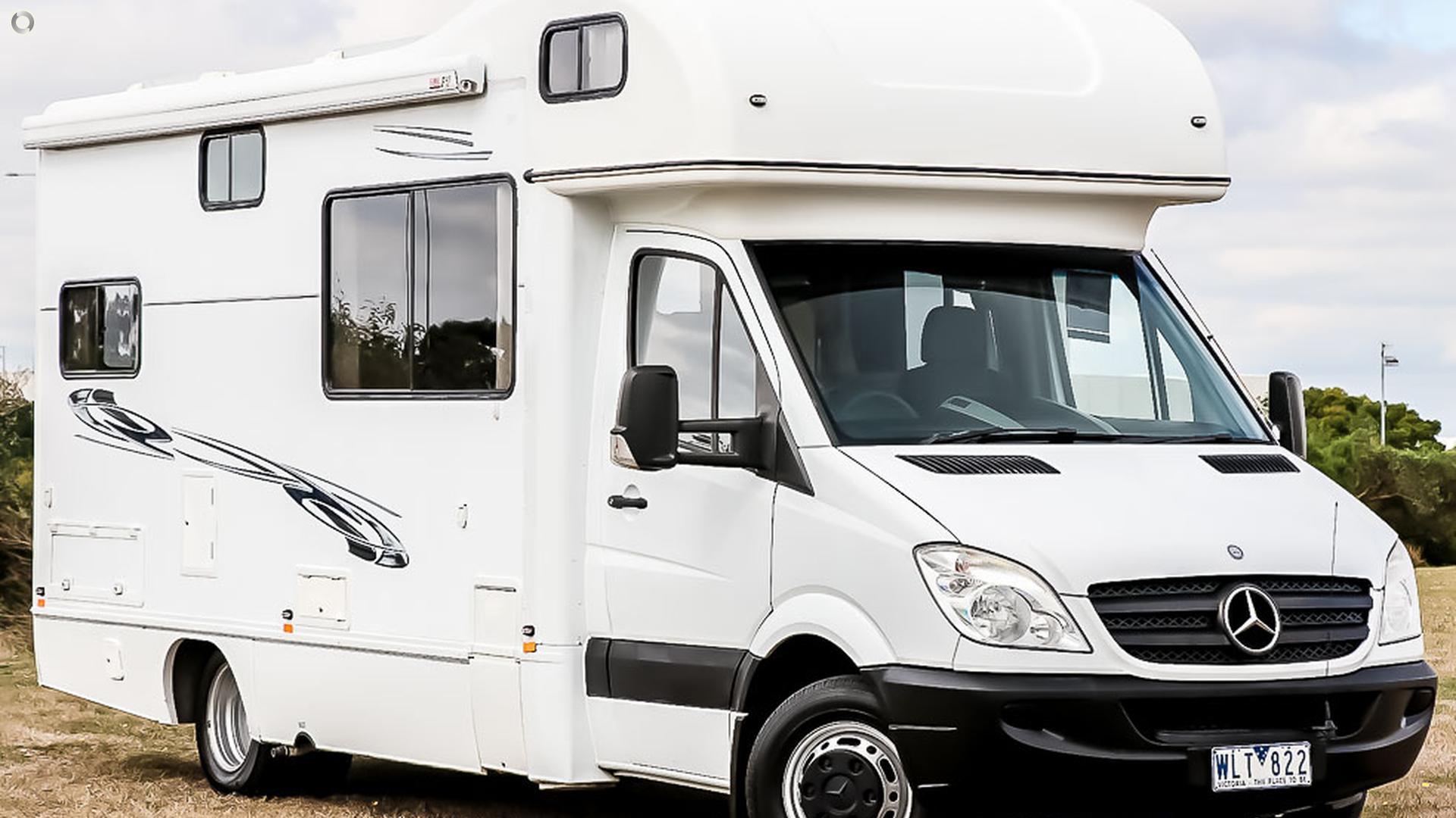 2008 Mercedes 6 Berth Motorhome