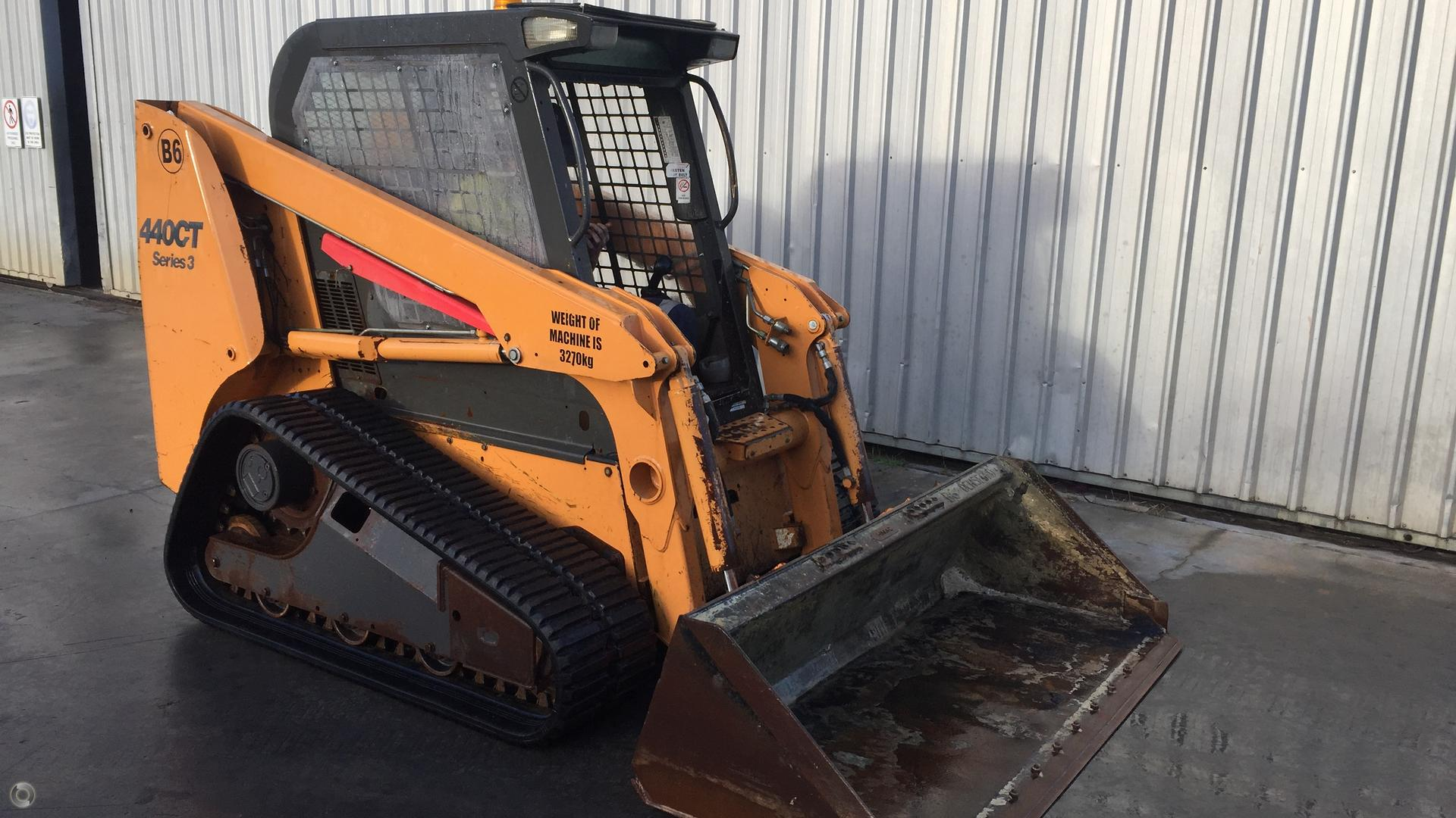 2010 CASE 440CT Compact Track Loader
