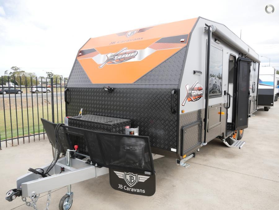 2019 JB Caravans Dirt Road Xtreme Bunk Van 22ft semi off road