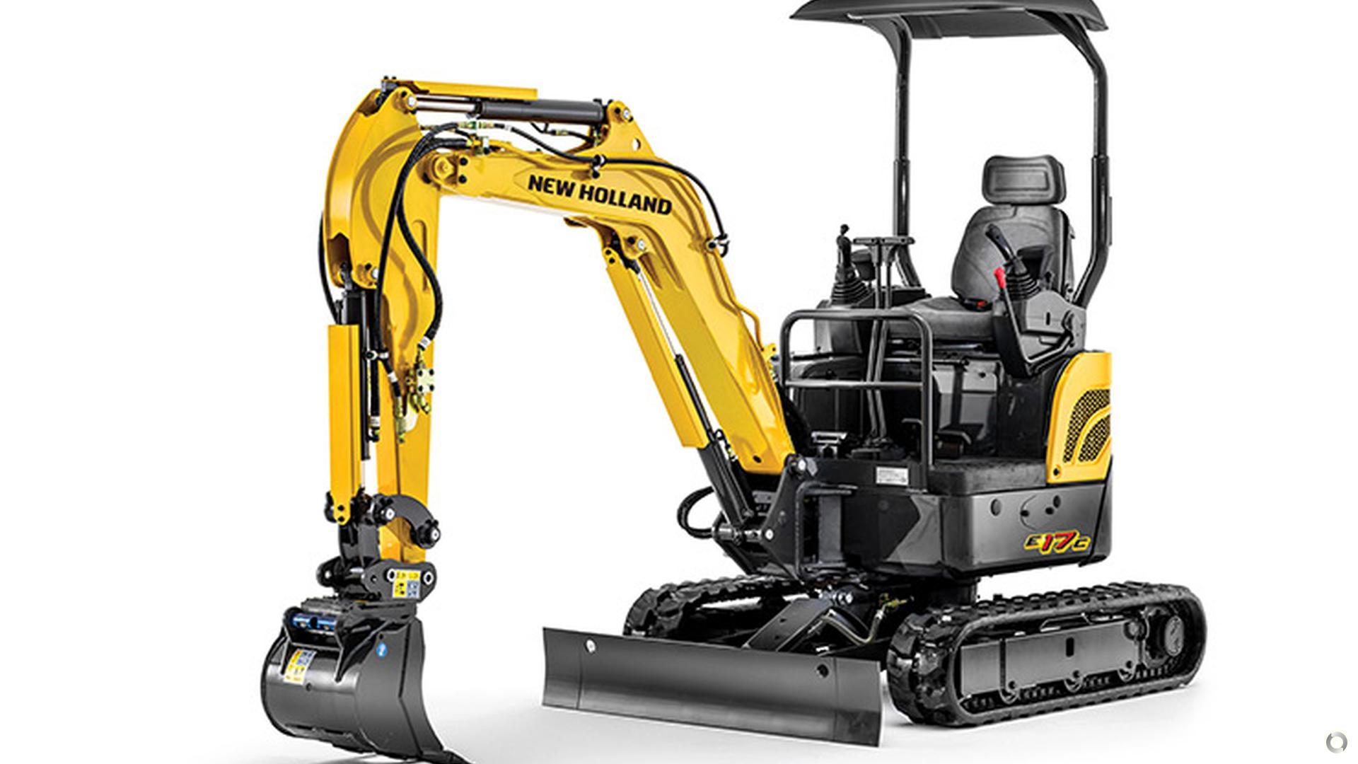 0 New Holland E17C Mini Excavator
