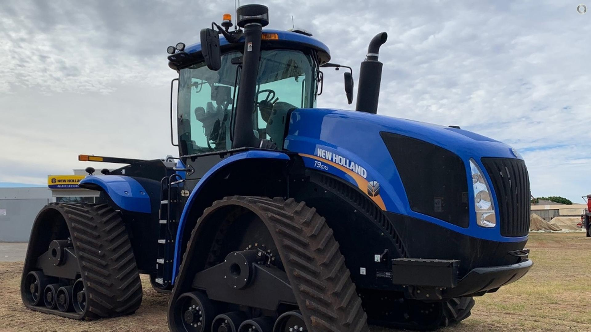 2019 New Holland T9.670